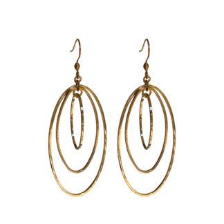 Flow Jewels oorbellen 18310-goud