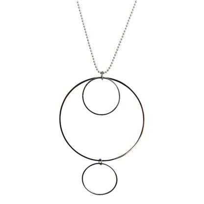 Flow Jewels ketting 18212 zilver-zoomin
