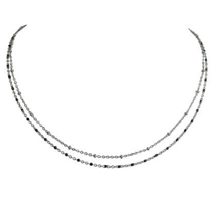 Flow Jewels ketting 19209 zilver