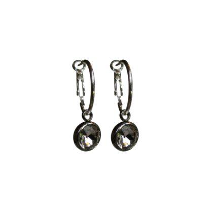 Flow Jewels oorbel 18334 zilver-crystal