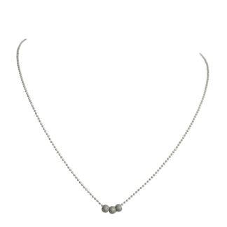 flow jewels ketting-19201-zilver