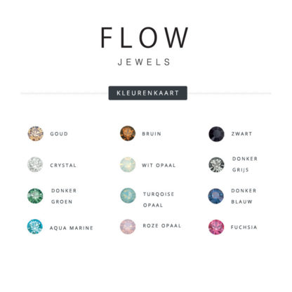 Flow Jewels kleurenkaart