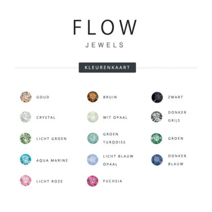 Flow Jewels - kleurenkaart