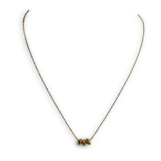 Flow Jewels ketting goud