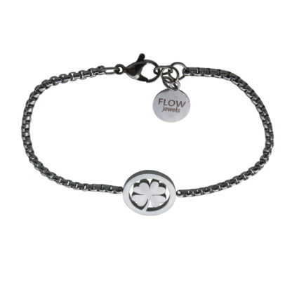 Flow Jewels armband zilver
