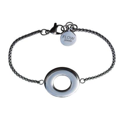 Flow Jewels armband zilver