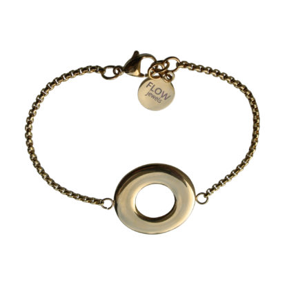 Flow Jewels armband goud