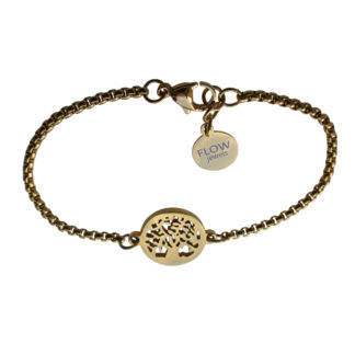 Flow Jewels armband goud