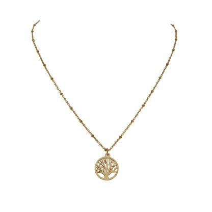 Flow Jewels ketting goud