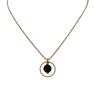 Flow Jewels 19254 goud-zwart
