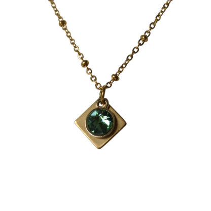 Flow Jewels 19237 goud-groen