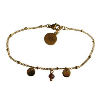 Flow Jewels 19137-goud-bruin