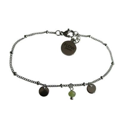 Flow Jewels 19137-zilver-groen
