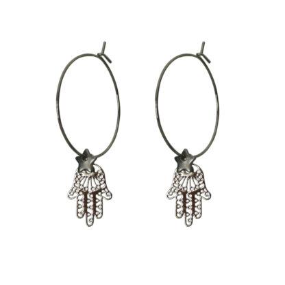 Flow Jewels oorbellen zilver