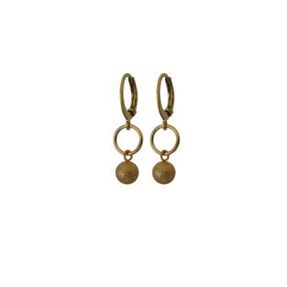 Flow Jewels oorbellen goud