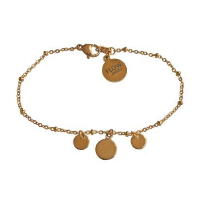 FlowJewels armband goud