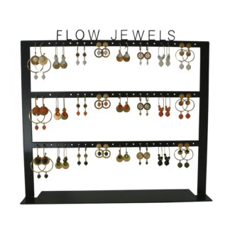 FlowJewels display oorbellen