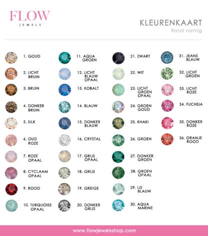 kleurenkaart Swarovski